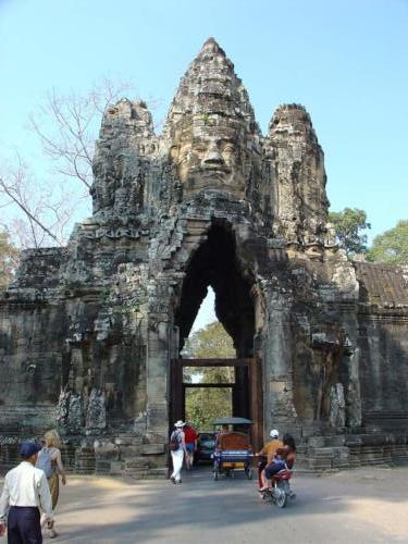 Wejście do zespołu Angkor Wat