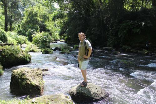 Rzeki tropikalne niosą zawsze dużo wody.